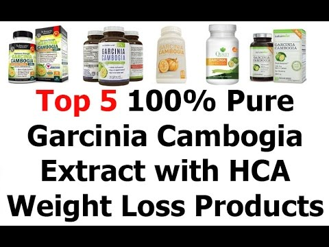 Top 5 100% Pure Garcinia Cambogia Extract with HCA Review Or Weight Loss Products That Work Fast 201