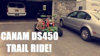 6. Canam DS450 Garret's Trail