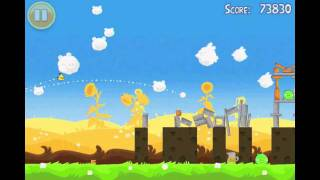 Angry Birds Seasons Summer Pignic Level 7 Walkthrough 3 Star