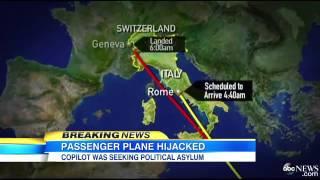 Ethiopian Plane Hijacking: Co-Pilot Allegedly Involve