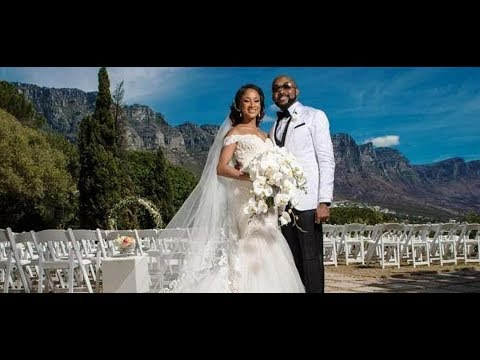 Banky W & Adesua Etomi's White Wedding In South Africa #BAAD 2017