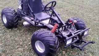 Motor Go kart mit Honda CBR 600F Motor