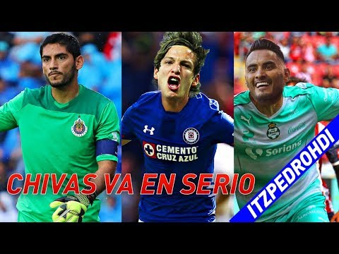 ✅Draft Liga Mx Clausura 2018 CONFIRMADO FICHAJES - CHIVAS YA TINE PORTERO ?  Y FIERRO SE VA🙀