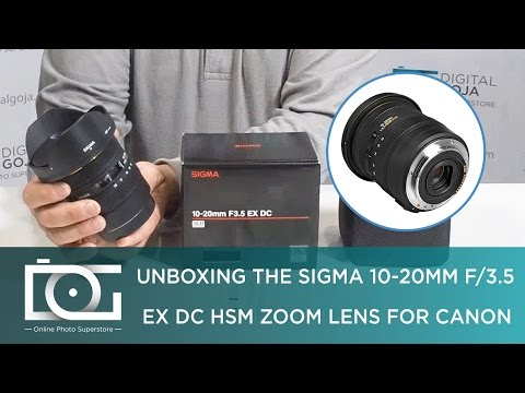 SIGMA 10-20mm f/3.5 EX DC HSM ELD SLD Wide-Angle Lens for CANON DSLR Cameras | REVIEW