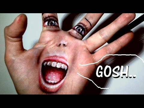 TROLL your Hand Face! Make Illusion