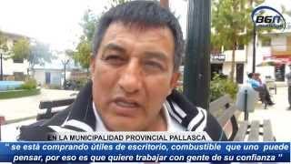 CORRUPCION MUNICIPALIDAD PROVINCIAL PALLASCA