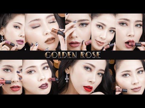 Video REVIEW : Golden Rose Liquid Matte Lipstick Mini download in MP3, 3GP, MP4, WEBM, AVI, FLV January 2017