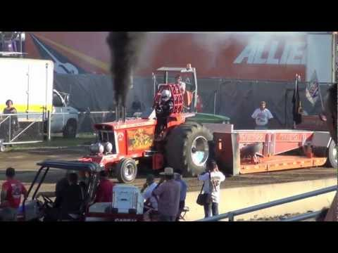 Tractorpulling - Footage of the Super Stock Tractor Class at the Columbia County Fair on Sept. 1, 2012. From the New York Pullers Association.