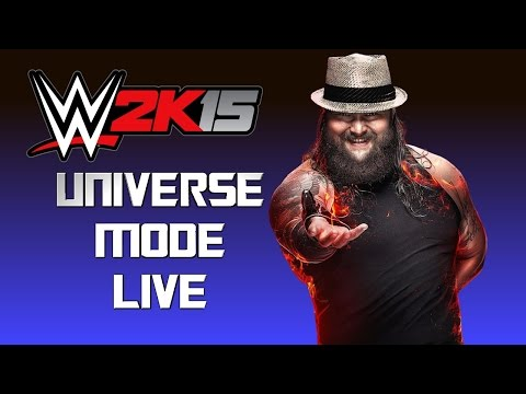 Universe - Holding the first ever WWE 2k15: Universe mode on my channel. Let's see how this goes... Follow me on twitter: http://twitter.com/PJ5ingh Follow me on Goggle + - https://plus.google.com/+psncoolp...