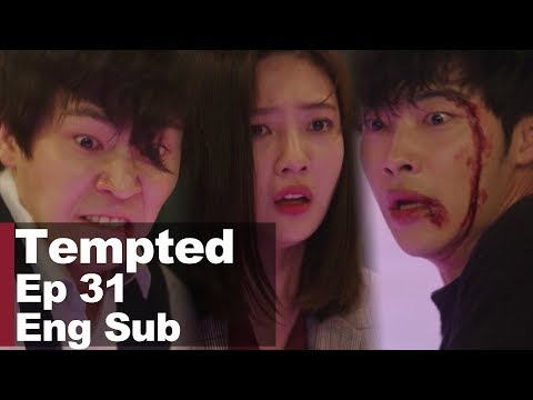 Woo Do Hwan Sacrifices Himself to Save Park Soo Young From Danger [Tempted Ep 31]