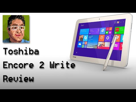 Toshiba Encore 2 Write 10 Inch Tablet Review