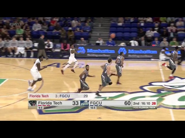 ESPN College Basketball highlights: Fla. Tech at Florida Gulf Coast (FGCU)