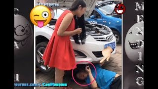 Video FUNNY PRANK 2017 | Try Not To Laugh or Grin - Gone Wrong Prank Compilation Challenge  #NEW FUNNY MP3, 3GP, MP4, WEBM, AVI, FLV Oktober 2017