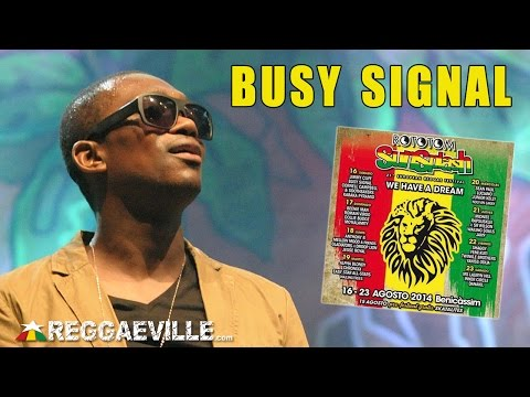 Busy Signal - Brighter Days @ Rototom Sunsplash 2014 [8/16/2014]