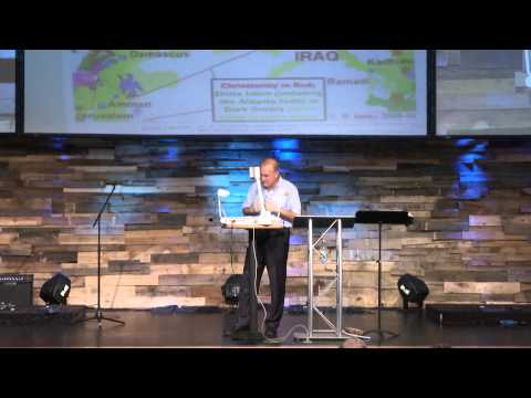 prophecy - Pastor Mark Correll Teaches Israel, Syria, Jordan, Iran, Egypt in Bible Prophecy.