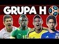 Grupa H Polska Senegal Kolumbia Japonia #Najciekawsze w sporcie