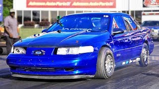 The FASTEST Ford Taurus on the PLANET! by 1320Video