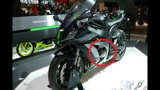 9. WOW !!! 2018 KAWASAKI NINJA ZX 10R SE FEATURES at EICMA 2017 - FIRST LOOK REVIEW