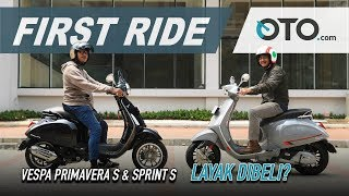 8. Vespa Primavera S & Sprint S 2019 | First Ride | Tambah Mahal, Tambah Bagus? | OTO.com