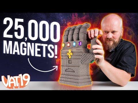 25 000 magneettia! – Valtava kasa