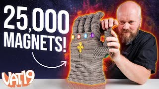 Video We built the Infinity Gauntlet with 25,000 magnets! MP3, 3GP, MP4, WEBM, AVI, FLV Mei 2018