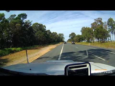 Near-miss Princes Highway head-on south of Moruya