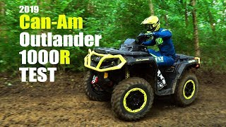 6. 2019 Can Am Outlander 1000R XTP Test Review