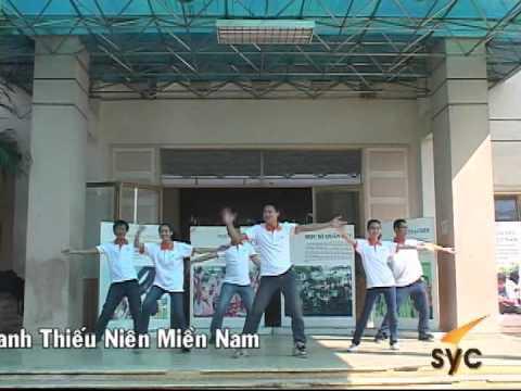 Dân vũ_Ngay dep tuoi_Trung tâm Thanh thiếu niên miền Nam