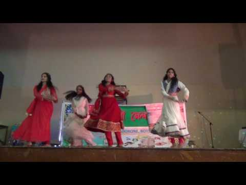 Baje re Baje Dhol ar Dhak dance | Bangladesh Association Botswana