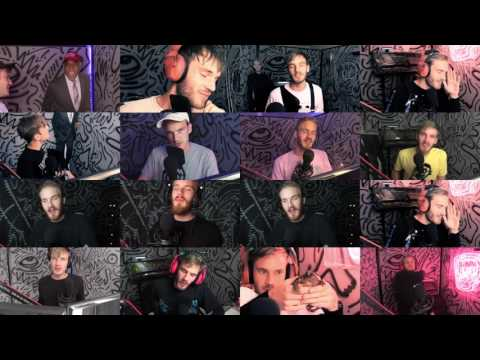Every Pewdiepie Intro Played At The Same Time