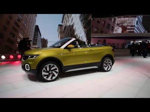 2016 Volkswagen T-Cross Breeze Concept