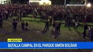 ¡Vergonzoso! Batalla campal, con cuchillo incluido, opacó Hip Hop al Parque en Bogotá