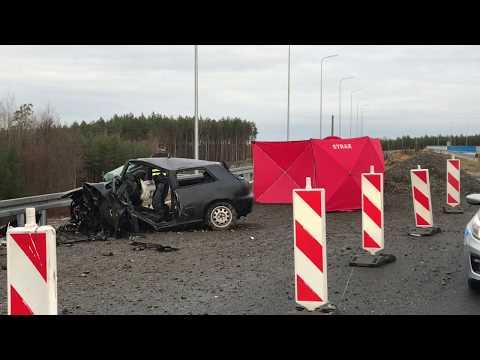 Wideo: Śmiertelny wypadek na S3