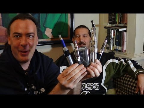 Ecig Mods - My friend Mike tries to help me decide which ecig mod or apv is best for a noob. GET THE WINNER HERE: iTasteVTR- Looking at the iTaste 134, the eVic, the iGO...