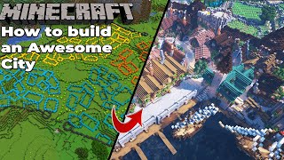 How to build an Awesome City in Minecraft 1.15 Survival