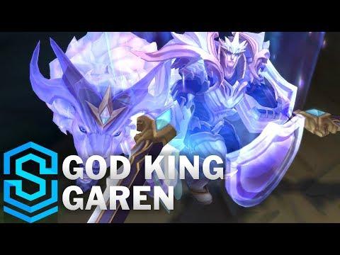 Garen Sư Vương - God King Garen