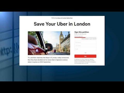 500.000 υπογραφές υπέρ της Uber στο Λονδίνο