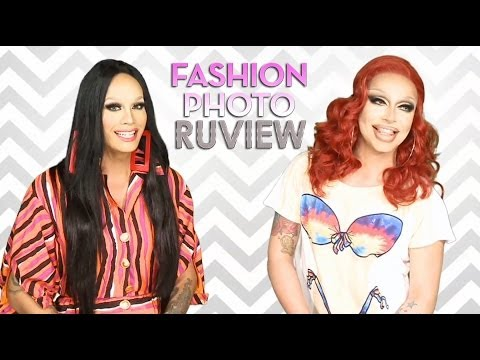 RuPaul's Drag Race Fashion Photo RuView with Raja and Raven - Episode 9