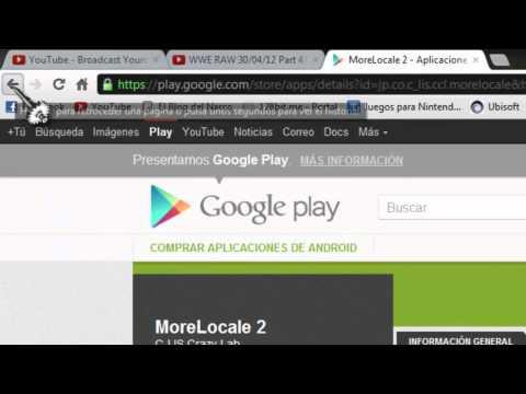 cambiar idioma ingles - español tablets y smathphone android