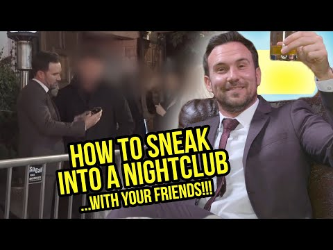 How to SNEAK into a Night Club (Language)