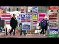 Higher than expected voter turnout - YouTube