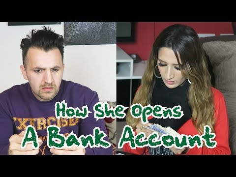 How She Opens A Bank Account | OZZY RAJA