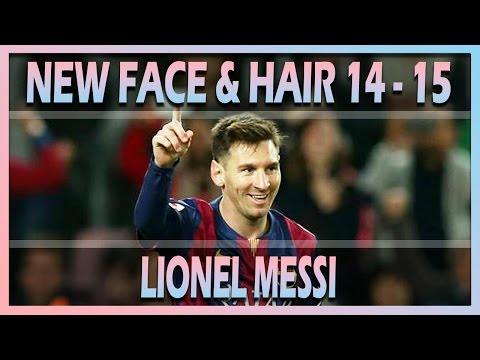 NEW FACE & HAIR LIONEL MESSI 2014/2015 [ PES 2013 ] [ DESCARGA ]