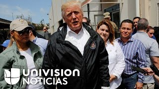 En un minuto: Trump advierte a Puerto Rico que la ayuda no puede quedarse para siempre