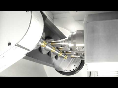 SW 4-spindle 5-axis simultaneous machining - BA 342