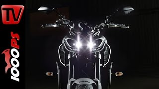 3. Yamaha FZ-09 2017 - News and Specs