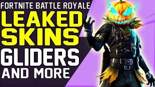 NEW Fortnite LEAKED SKINS Patch 6 02, GLIDERS, EMOTES, PICKAXES, Season 6 Halloween Battle Royale