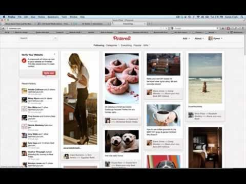 how to verify email on pinterest