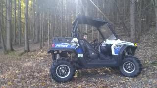8. Testing the Ranger RZR 800 EFI (UTV) from Polaris