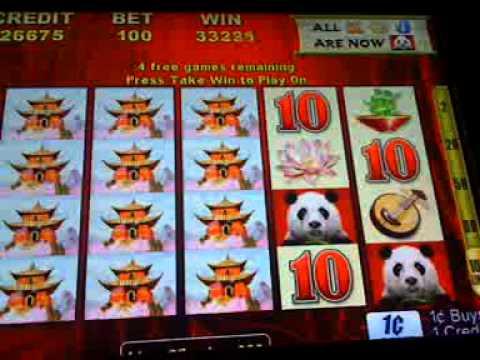 WILD PANDA  slot machine bonus win